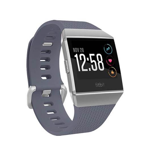 jual jam Fitbit Ionic Blue Gray-Silver Gray harga murah surabaya jakarta