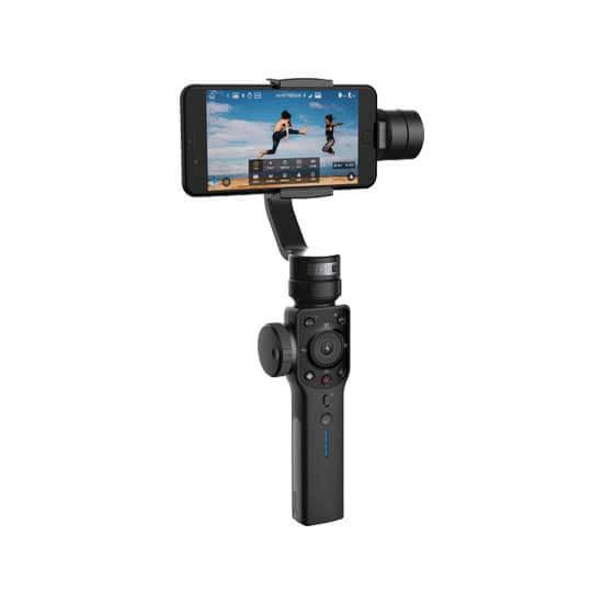 jual stabilizer Zhiyun Smooth 4 Smartphone Stabilizer Black harga murah surabaya jakarta
