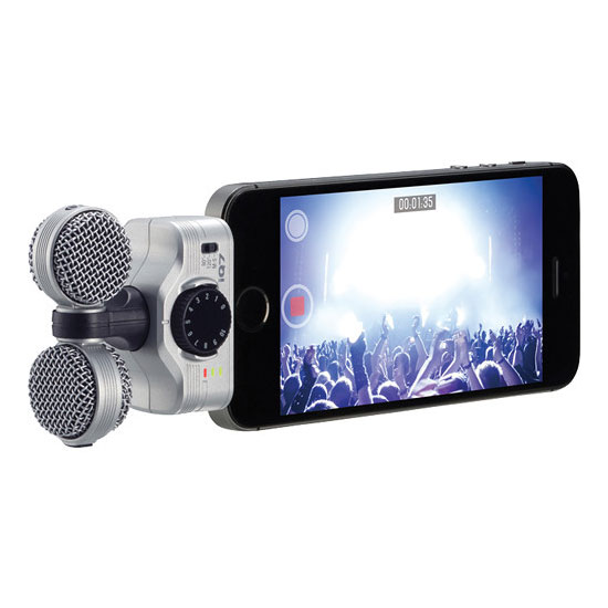 Jual Zoom iQ7 Professional Stereo Microphone for iOS Devices Harga Murah