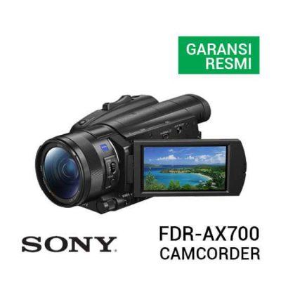 jual camcorder Sony FDR-AX700 4K HDR Camcorder harga murah surabaya jakarta