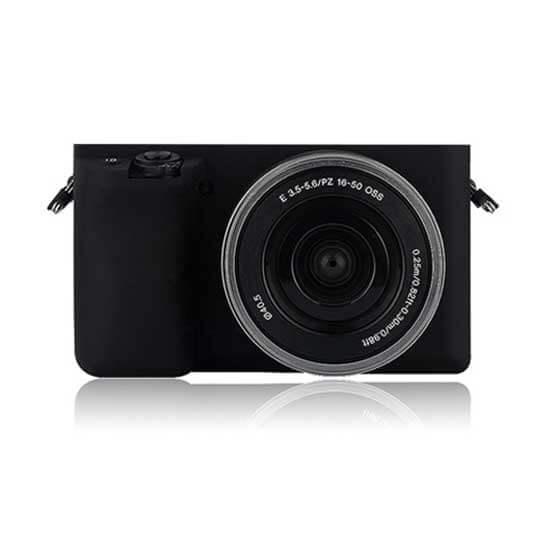 jual Silicone Case for Sony A6000 Black harga murah surabaya jakarta