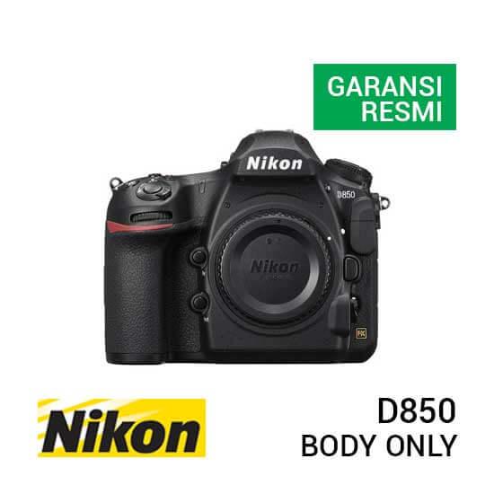 jual kamera Nikon D850 Body Only harga murah surabaya jakarta