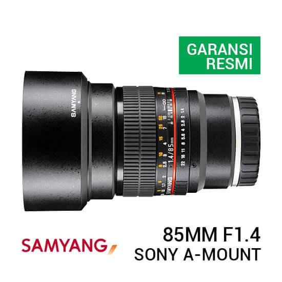 jual lensa Samyang 85mm F1.4 AS IF UMC for Sony A-Mount harga murah surabaya jakarta