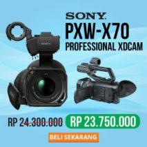 jual sony pxw-x70 toko kamera online plazakamera surabaya jakarta