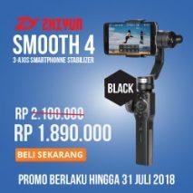 jual zhiyun smooth 4 toko kamera online plazakamera surabaya jakarta