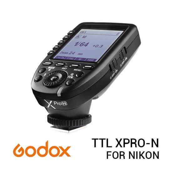 jual Godox TTL XPRO-N Wireless Flash Trigger for Nikon harga murah surabaya jakarta
