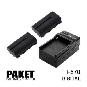 jual Paket F570 (2 Battery+Charger) harga murah surabaya jakarta