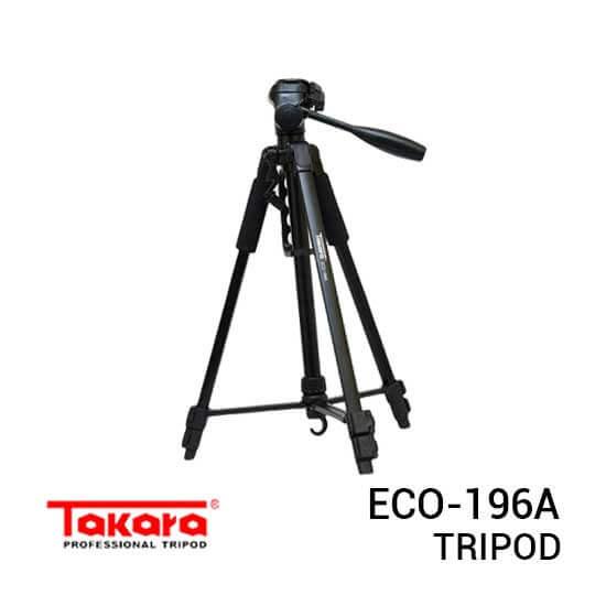 jual Tripod Takara Eco-196A Black harga murah surabaya jakarta