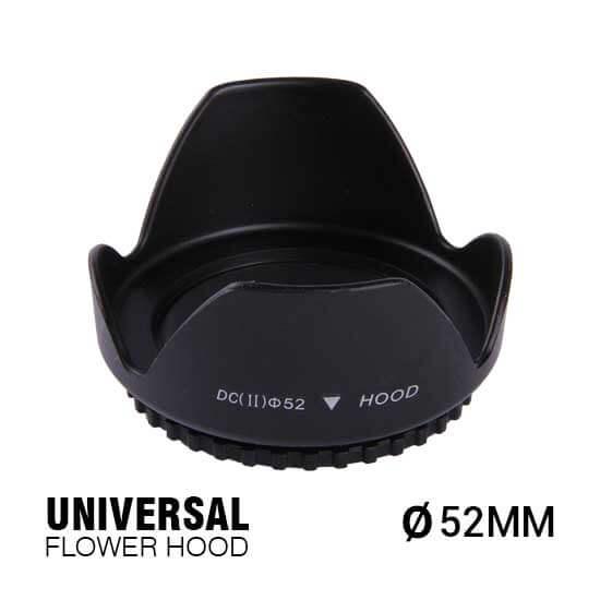 jual Universal Flower Hood 52mm harga murah surabaya jakarta