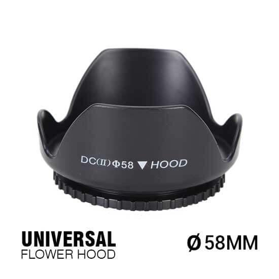 jual Universal Flower Hood 58mm harga murah surabaya jakarta