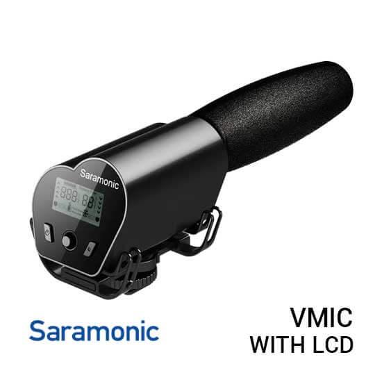 jual mic Saramonic Vmic Recorder Microphone With LCD Monitor harga murah surabaya jakarta