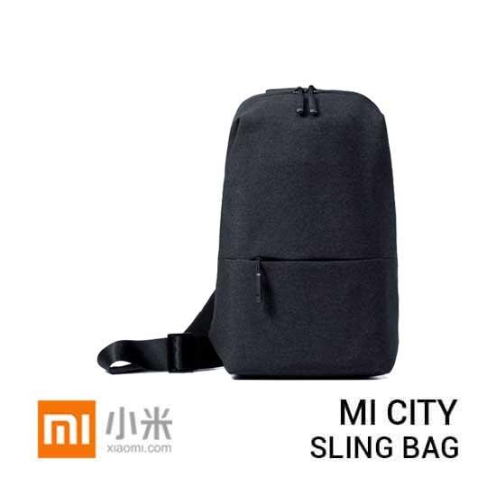 jual tas Mi City Sling Bag Dark Grey harga murah surabaya jakarta