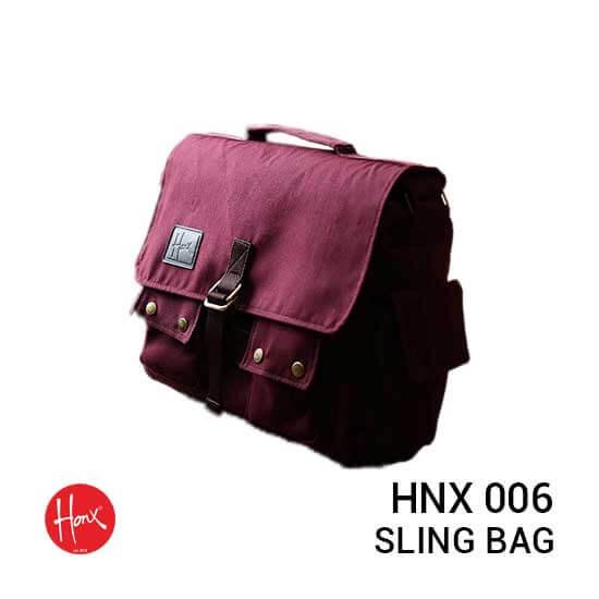 Jual Tas Kamera HONX HNX 006 Sling Bag Maroon Harga Murah