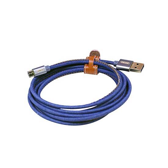 jual usb Remax Cowboy Cable Type-C 120cm Blue harga murah surabaya jakarta