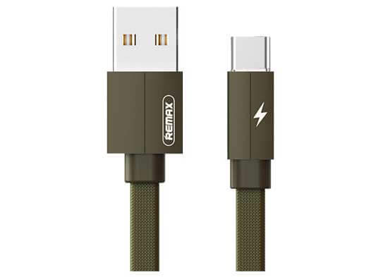 jual usb Remax Kerolla Cable Type-C 100cm Green harga murah surabaya jakarta