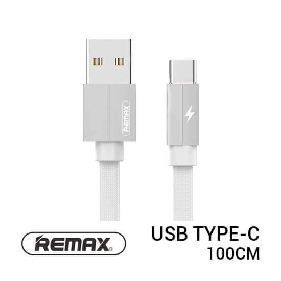 jual usb Remax Kerolla Cable Type-C 100cm White harga murah surabaya jakarta
