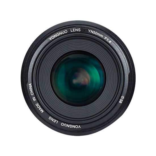 jual Lensa YongNuo Canon 50mm F1.4 harga murah surabaya jakarta