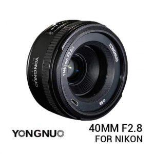 jual Lensa YongNuo Nikon 40mm F2.8 harga murah surabaya jakarta