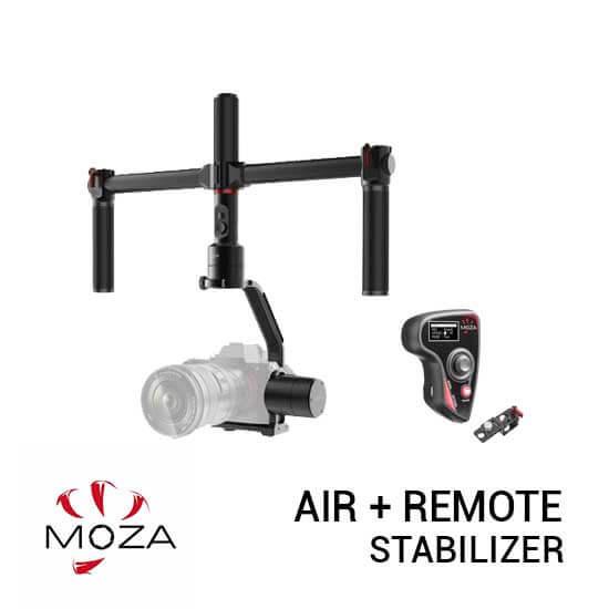 jual Moza Air DSLR Gimbal Stabilizer Plus Remote harga murah surabaya jakarta