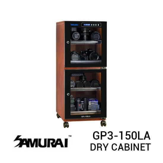 jual Samurai GP3-150LA Digital Wooden Metal Dry Cabinet 150L harga murah surabaya jakarta