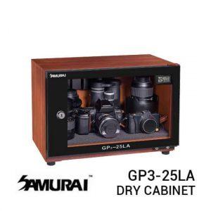 jual Samurai GP3-25LA Digital Wooden Metal Dry Cabinet 25L harga murah surabaya jakarta