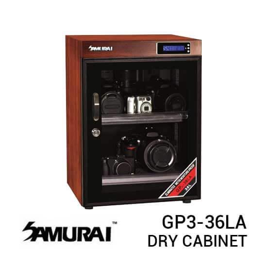 jual Samurai GP3-36LA Digital Wooden Metal Dry Cabinet 36L harga murah surabaya jakarta