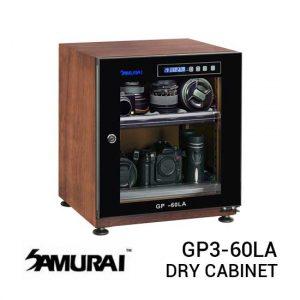 jual Samurai GP3-60LA Digital Wooden Metal Dry Cabinet 60L harga murah surabaya jakarta
