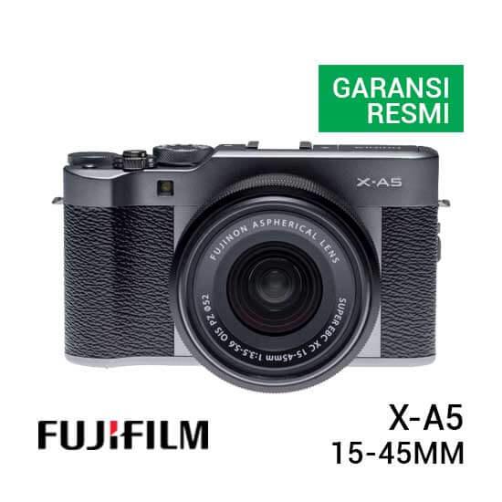 Fujifilm X A5 Kit 15 45mm Dark Silver