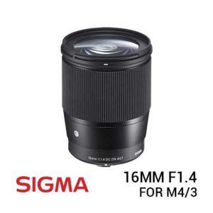 jual lensa Sigma 16mm F1.4 DC DN Contemporary Lens for M4/3 harga murah surabaya jakarta