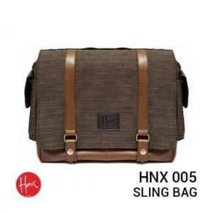 jual tas kamera HONX HNX 005 Sling Bag Brown harga murah surabaya jakarta