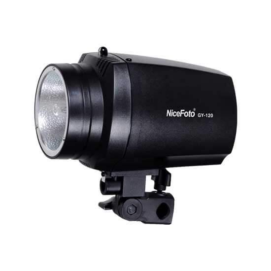 jual NiceFoto GY-120 Mini Studio Lamp Flash harga murah surabaya jakarta
