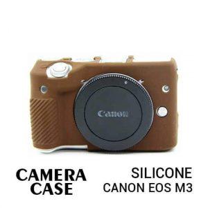 jual Silicone Case Canon EOS M3 Brown harga murah surabaya jakarta