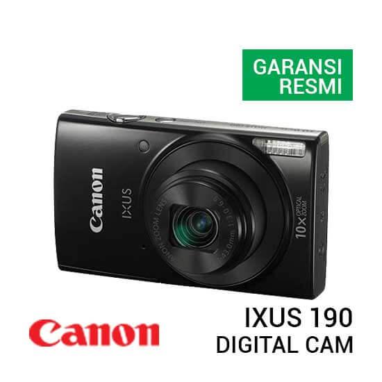 jual kamera Canon Digital IXUS 190 Black harga murah surabaya jakarta