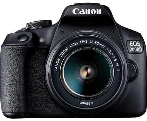 jual kamera Canon EOS 2000D EF-S 18-55mm IS harga murah surabaya jakarta