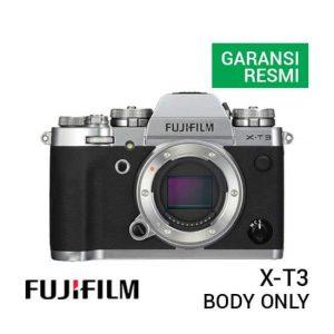 jual kamera Fujifilm X-T3 Body Only Silver harga murah surabaya jakarta