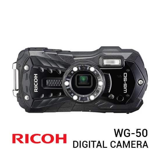 jual kamera Ricoh WG-50 Black harga murah surabaya jakarta