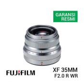 jual lensa Fujinon XF 35mm F2.0 R WR Silver harga murah surabaya jakarta