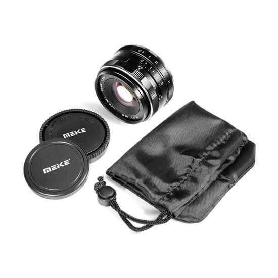 jual lensa Meike 35mm F1.7 For Fujifilm harga murah surabaya jakarta