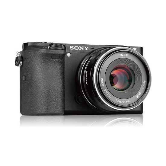 jual lensa Meike 35mm F1.7 For Sony harga murah surabaya jakarta
