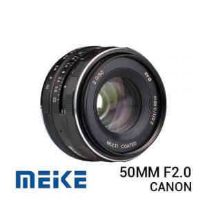 jual lensa Meike 50mm F2.0 For Canon harga murah surabaya jakarta