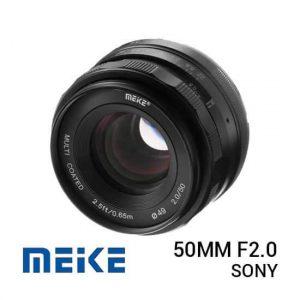 jual lensa Meike 50mm F2.0 For Sony harga murah surabaya jakarta