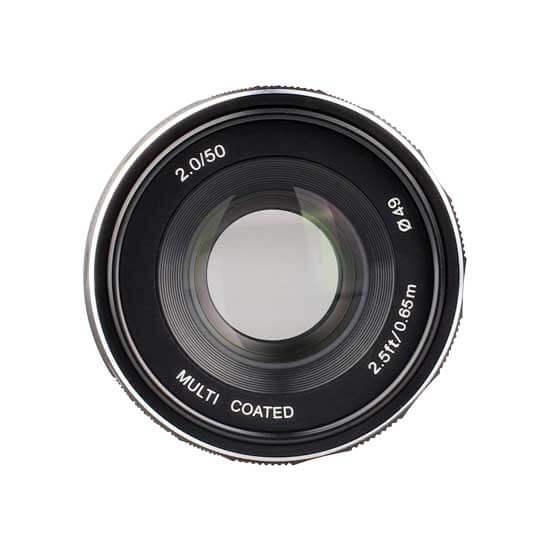 jual lensa Meike 50mm F2.0 For Fujifilm harga murah surabaya jakarta