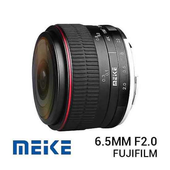 jual lensa Meike 6.5mm F2.0 For Fujifilm harga murah surabaya jakarta