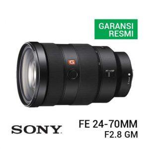 jual lensa Sony FE 24-70mm F2.8 GM harga murah surabaya jakarta