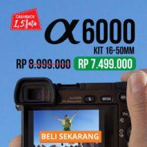 jual sony a6000 toko kamera online plazakamera surabaya dan jakarta