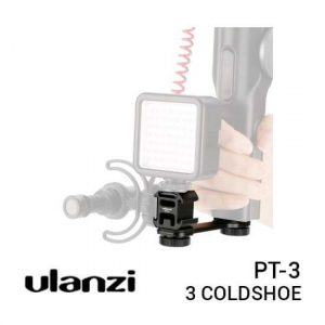 Ulanzi PT-3 Triple Cold Shoe Extension Bracket