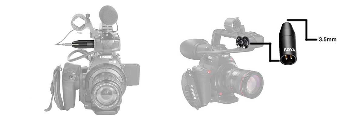 jual Boya 35C-XLR Pro 3.5mm Mini-Jack to XLR Converter harga murah surabaya jakarta