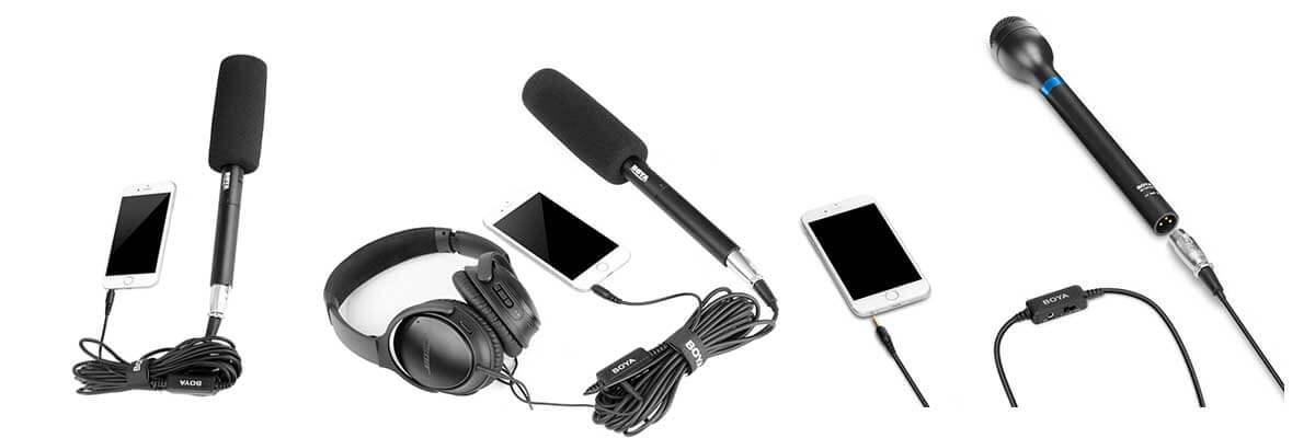 jual Boya BY-BCA6 XLR to 3.5mm TRRS Adapter harga murah surabaya jakarta