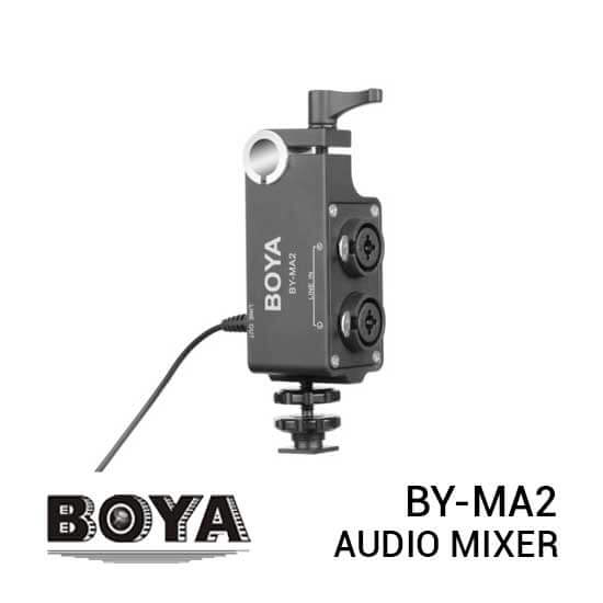 jual Boya BY-MA2 Audio Mixer 2 XLR Input harga murah surabaya jakarta