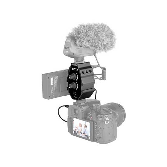 jual Boya BY-MP4 Audio Mixer harga murah surabaya jakarta